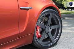 Lowered BMW M2 - Wheel Gap