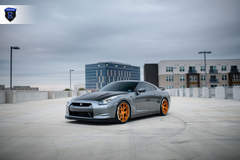 Gray Nissan GTR - Stance Pose