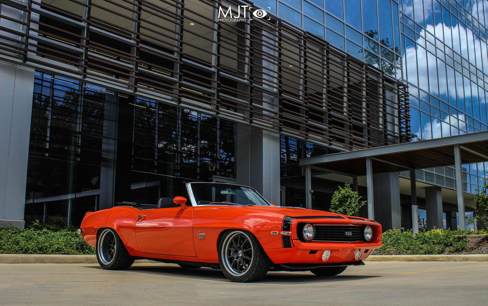 1969 Chevrolet Camaro   Tony's Deviate Motoring '69 Camaro Convertible on Forgeline GZ3 Wheels