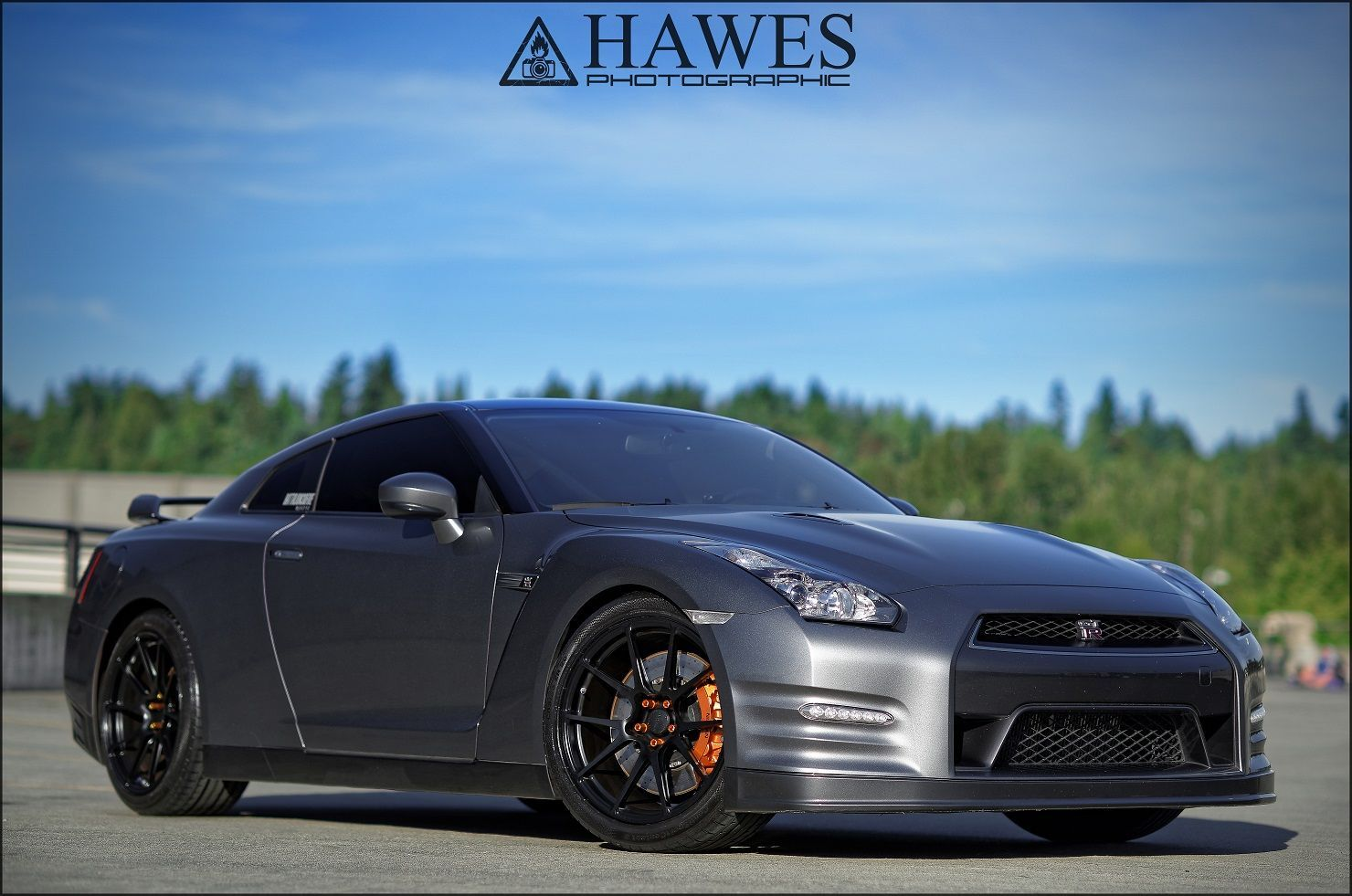 2014 Nissan GT-R | GT-R on Forgeline GA1R Open Lug Cap Edition Wheels