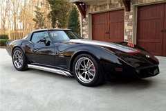 Rusty Wallace's 1978 C3 Corvette on Forgeline ZX3P Wheels Sells for $110k at Barrett-Jackson