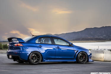 2013 Mitsubishi Lancer Evolution | VOLKRACING CE28RT Black Edition