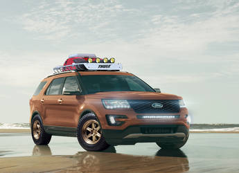 2015 Ford Explorer Sport | '15 Explorer Sport by All Star Performance - Rendering