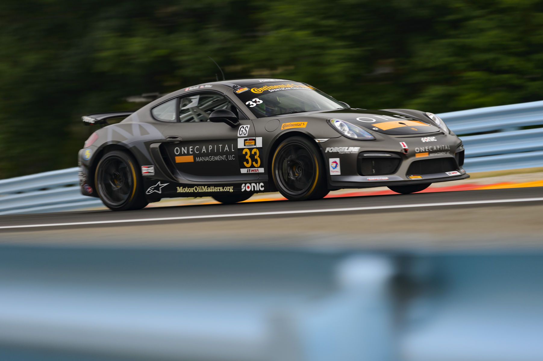 2015 Porsche Cayman | Forgeline-Equipped Porsche Caymans Sweep IMSA CTSC GS at Watkins Glen
