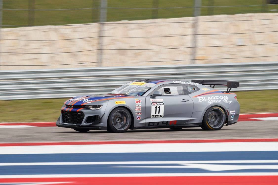 2018 Chevrolet Camaro | PF Racing's #55 Ford Mustang GT4 Wins at COTA on Forgeline One Piece Forged Monoblock GS1R Wheels