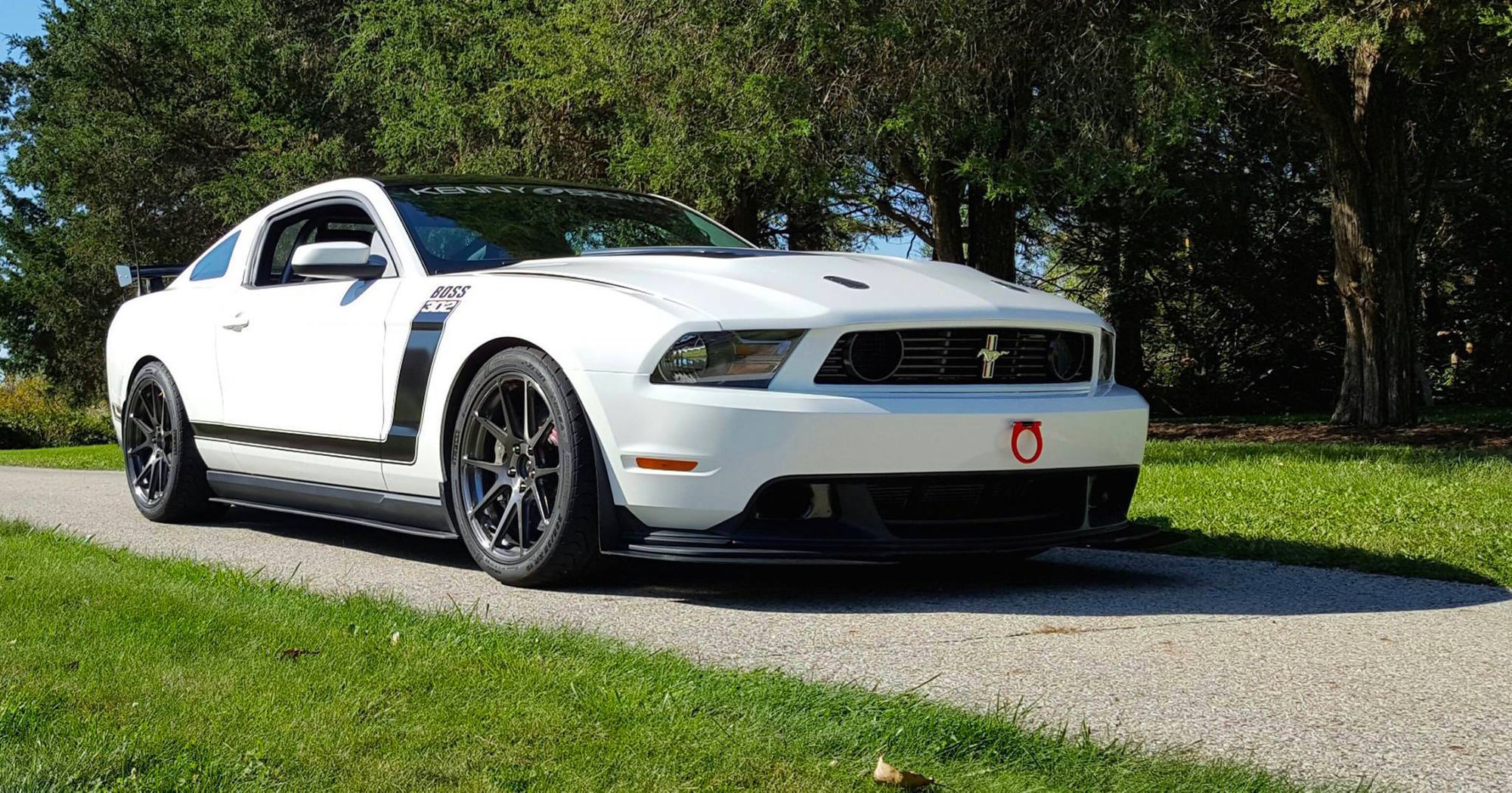 2014 Ford Mustang | Kenny Brown Ford Mustang Boss X on Forgeline 1pc Forged Monoblock GA1R Wheels