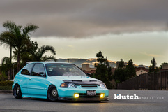 '96 Honda Civic on Klutch SL-1's