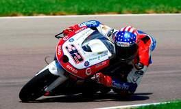 Isaac Vinales on his Moto3 Machine