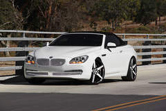BMW 650i on Lexani R-Four's