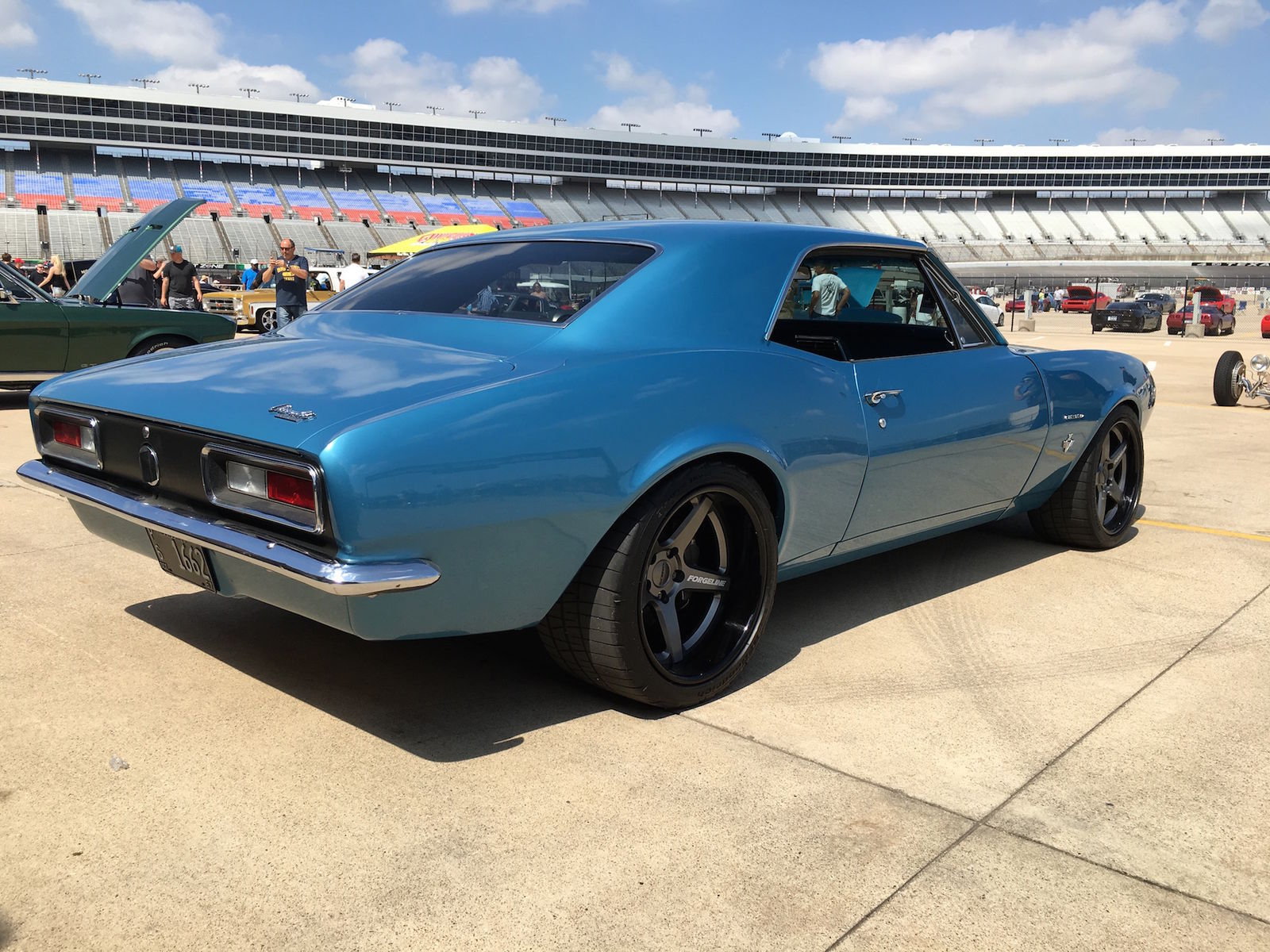 1967 Chevrolet Camaro | Jason's '67 Camaro on Forgeline CF3C Wheels Earns Goodguys Best Ride on BFGs Award