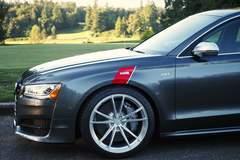H&R 2016 Audi A8L - OZ Wheels