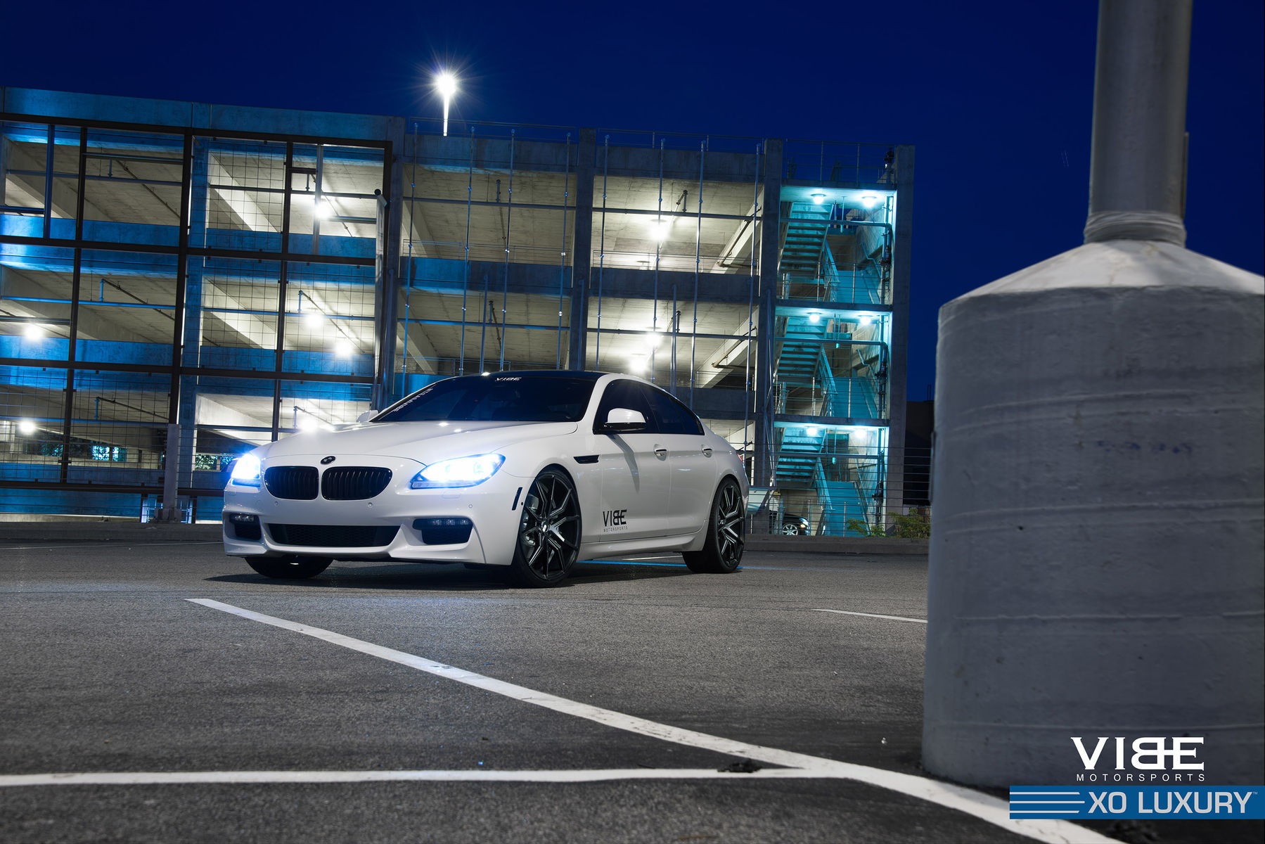 2014 BMW 6 Series Gran Coupe | '14 BMW 650li on 22's - Lights On