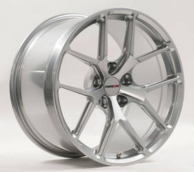 Forgeline One Piece Forged Monoblock VX1R in Hyper Silver
