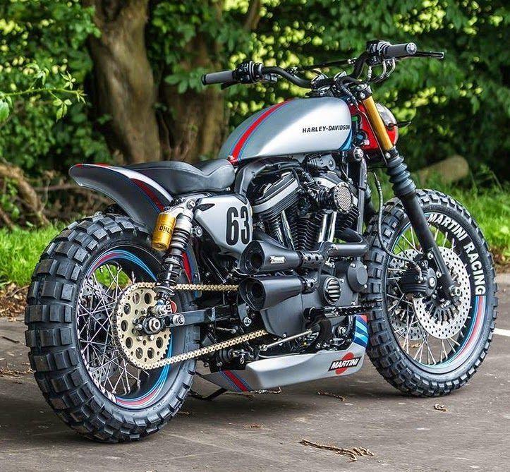 Harley-Davidson  | Nice+Harley+Racing+Style