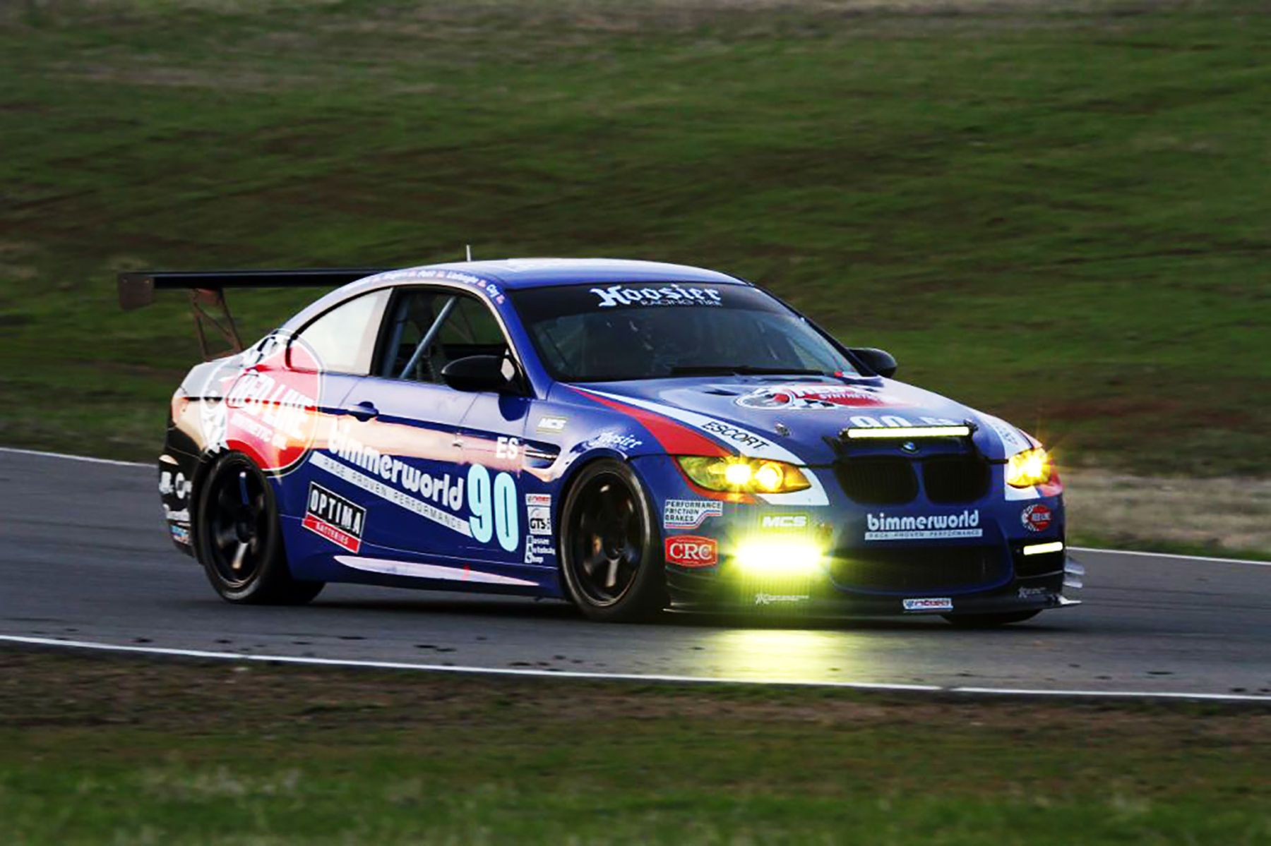 BMW    BMW on the track with Rigid Industries lights