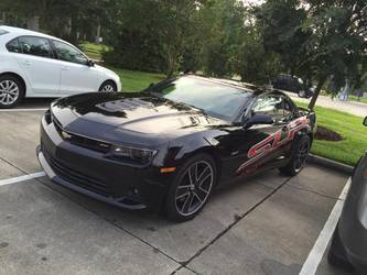 SLP Supercharged Development Camaro