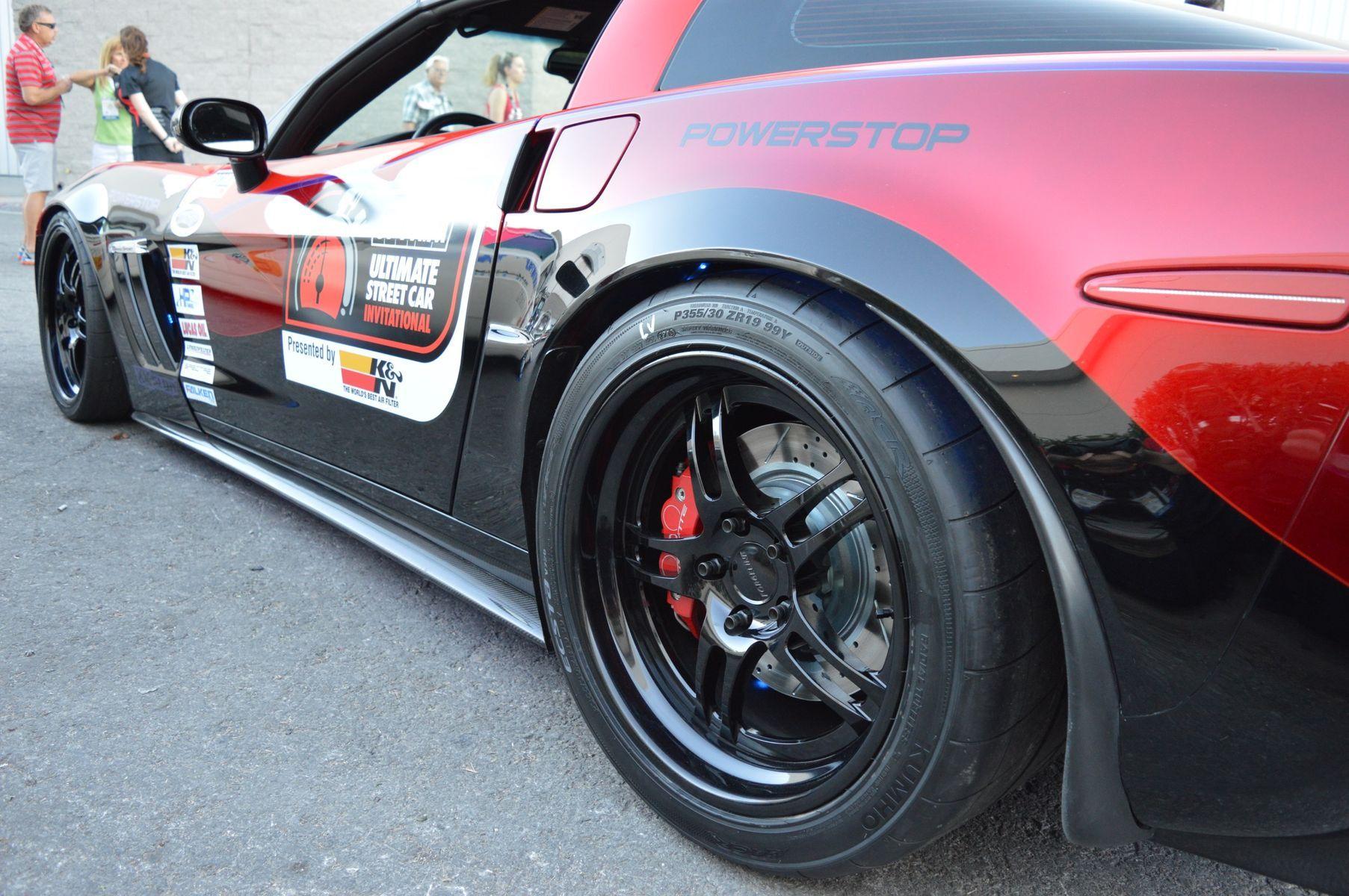 2006 Chevrolet Corvette | Glen Barnhouse's Procharged C6 Corvette Grand Sport on Forgeline DS3 Wheels