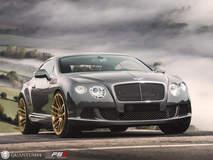 Quantum44 FS1 Satin Gold - Bentley Continental GT