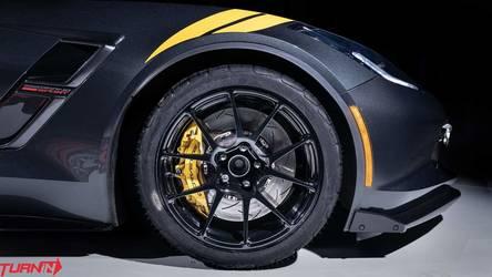 2018 Chevrolet Corvette | Turn In Concepts' C7 Corvette Grand Sport on Forgeline One Piece Forged Monoblock GA1R Open Lug Wheels