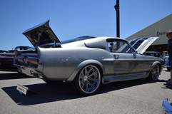 Gregg Dunkin's '67 Ford Mustang on Forgeline Grudge Wheels
