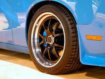 Petty's Garage 1000HP Supercharged 426ci Dodge Challenger on Center Locking Forgeline GA3 Wheels - Wheel Shot