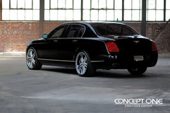 '12 Bentley Mulsanne on Concept One RS55's