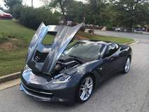 Corvette Stingray with XPEL ULTIMATE installed