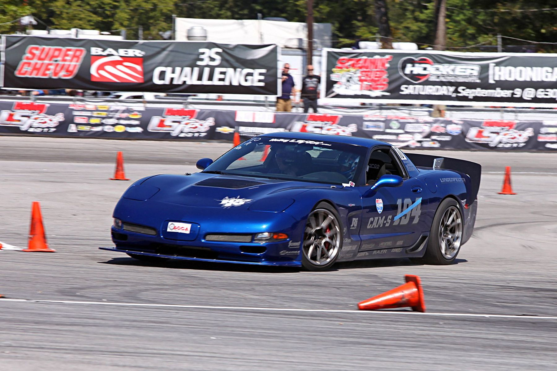 2003 Chevrolet Corvette Z06 | Danny Popp Wins High Noon Shootout at the 2017 LS Fest