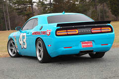 The Petty's Garage General Tire Dodge Challenger on Forgeline SC3C Concave Wheels