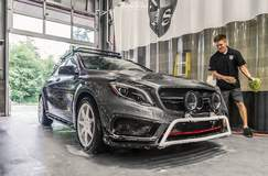 XPEL STEALTH wrapped Mercedes-Benz GLA45 AMG