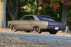 John Sutton's '67 Chevy Nova on Forgeline GZ3 Wheels - Driver Side Angle