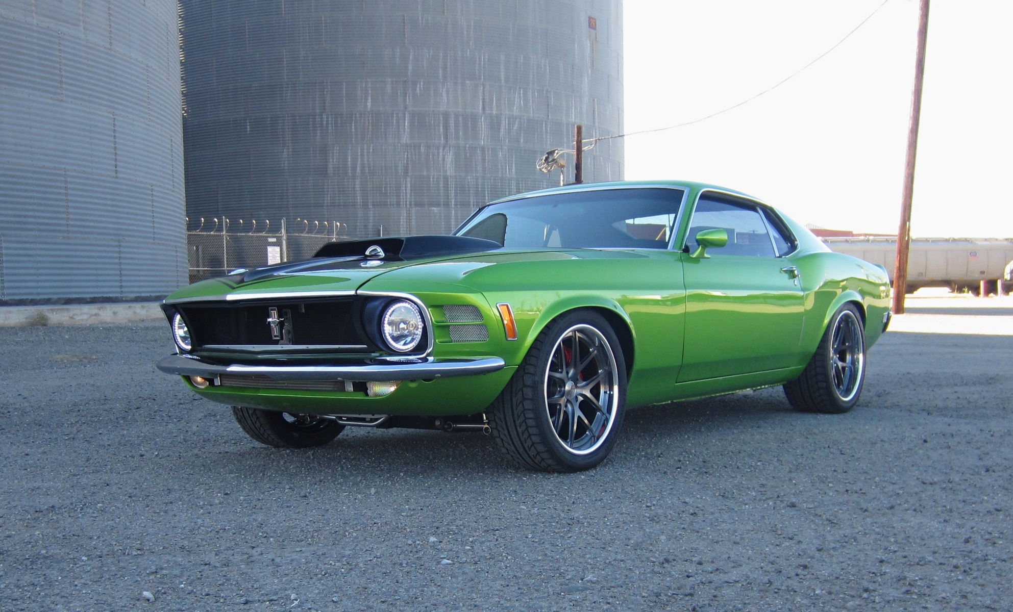 1970 Ford Mustang | Daniel Alameda's Supercharged 4.6L Ford Mustang on Forgeline VX3C Wheels