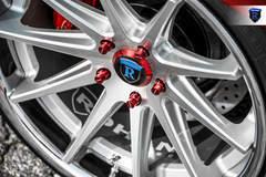 Custom Nissan Maxima - Red Lugs