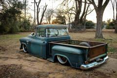 "JP's Hales Speed Shop ""Boomer"" 1955 GMC Truck on Forgeline DE3C Wheels"
