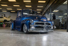 Michael's J-Rod & Custom 1954 Chevy Pickup on Forgeline RB3C Wheels