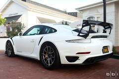 Wes' BBi Autosport Porsche 991 Turbo with 991.2 GT3 Conversion on Forgeline Carbon+Forged CF201 Wheels