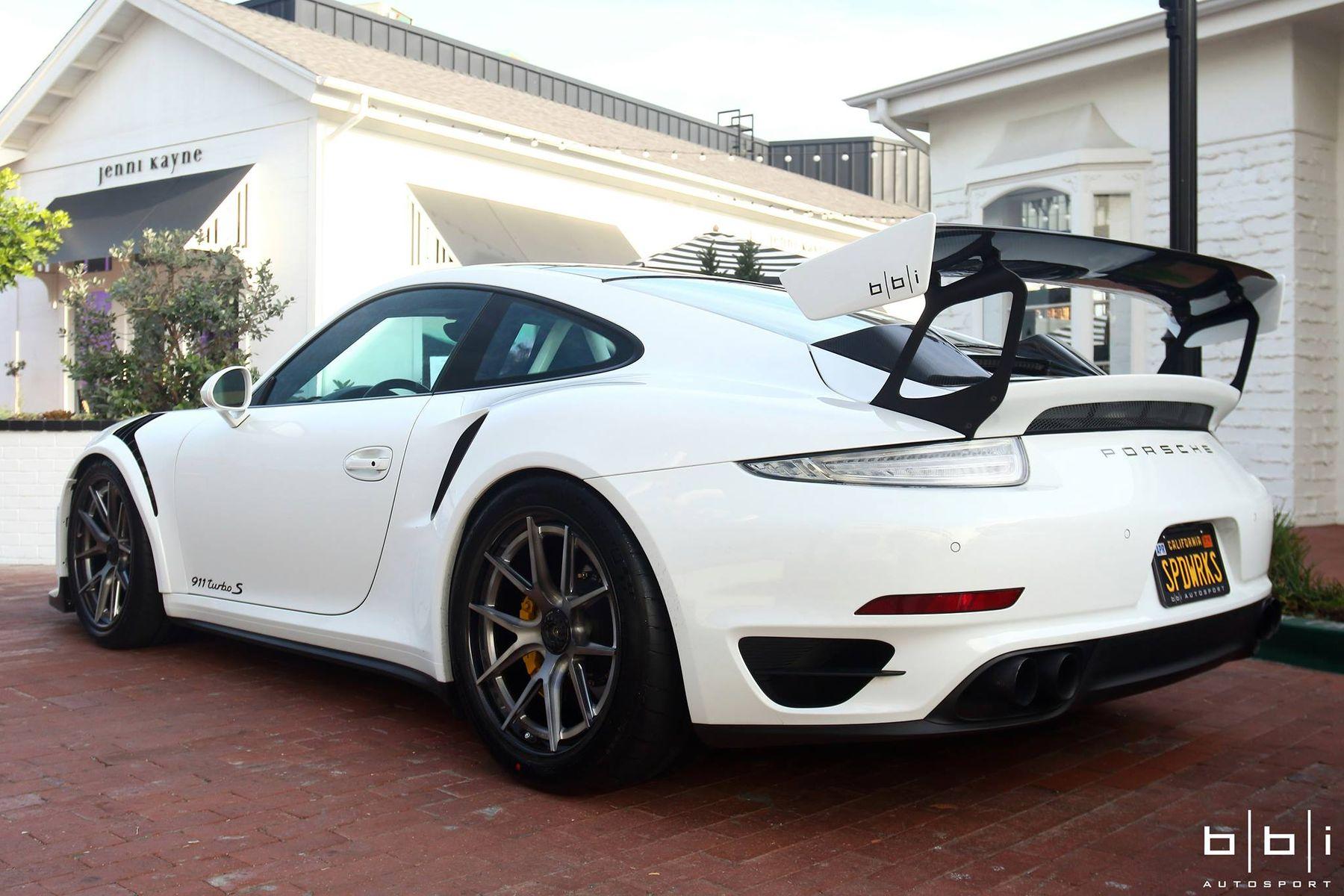 2014 Porsche 911 | Wes' BBi Autosport Porsche 991 Turbo with 991.2 GT3 Conversion on Forgeline Carbon+Forged CF201 Wheels