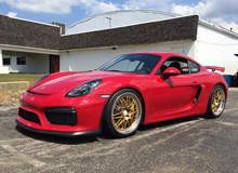 Alan Coleman's Porsche Cayman GT4 on Forgeline GX3R Wheels