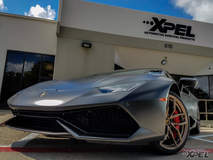 STEALTH wrapped Huracan from XPEL San Antonio