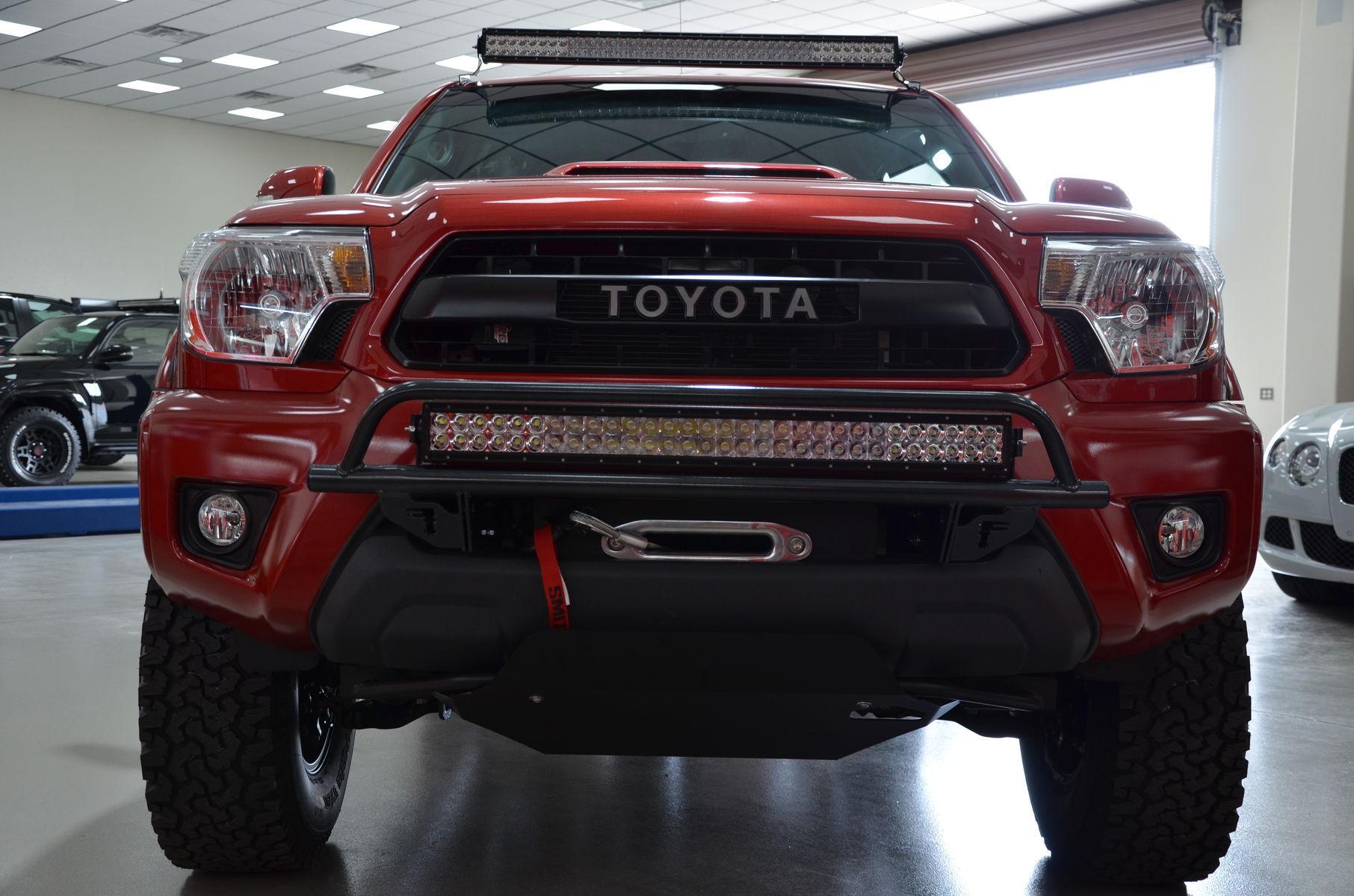 2014 Toyota Tacoma | N-FAB TRD PRO Build - Toyota Tacoma Front Profile Shot