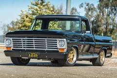 Derek Brown's '67 Ford F100 Pickup on Forgeline GX3P Wheels - Front Stance