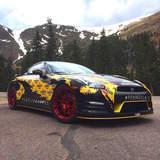 Pennzilla GT-R on Forgeline GA1R Wheels