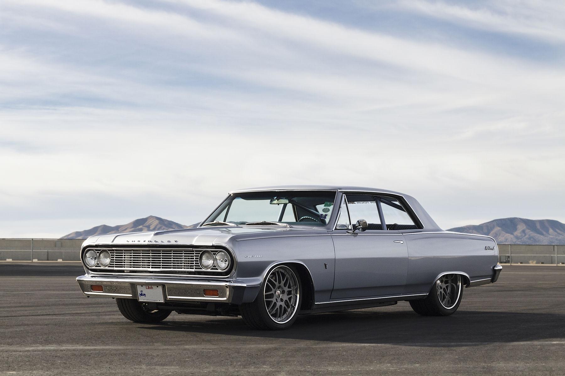 1964 Chevrolet Malibu   RaceDeck Garage Flooring's