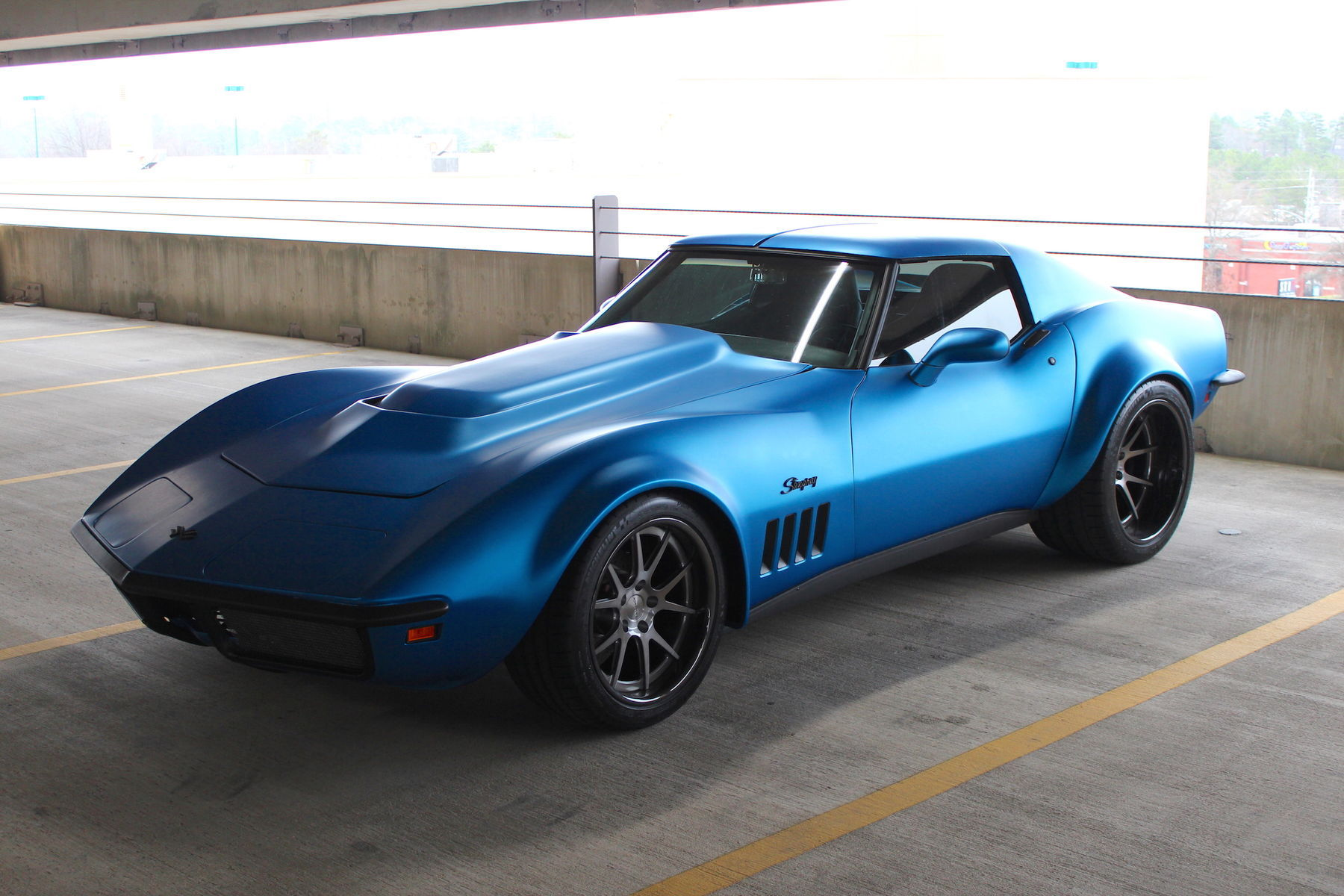 1969 Chevrolet Corvette Stingray | Chris Wylie's 1969 C3 Corvette Stingray on Forgeline GA3C Concave Wheels