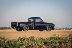 Brad Brown's East Bay Muscle Cars 1967 Chevy C10 Stepside Truck on Forgeline Dropkick Wheels