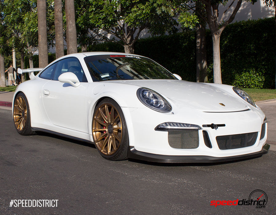 2015 Porsche 911 |  Speed District 991 GT3 on Forgeline GT1 Wheels