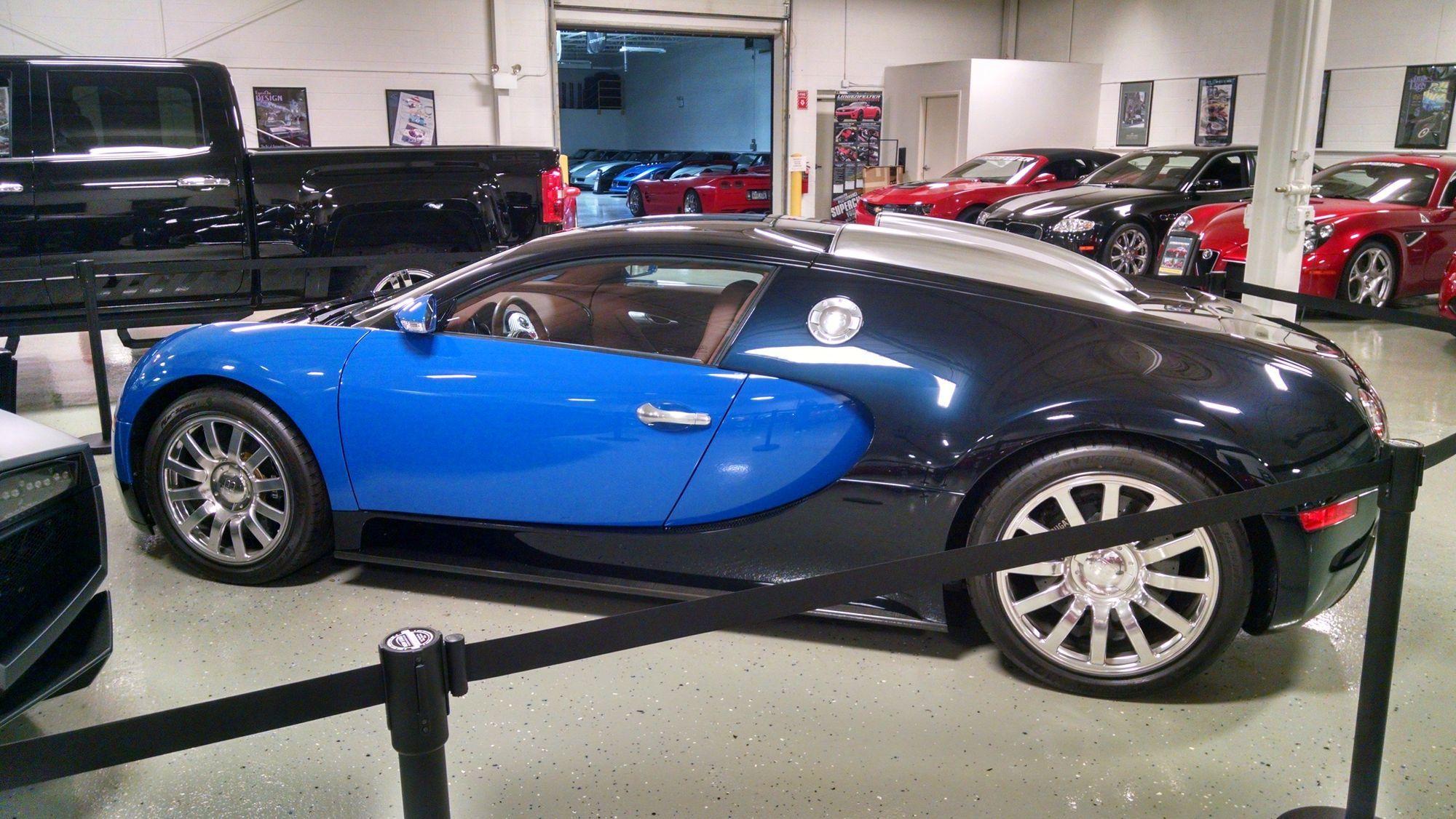 2007 Bugatti Veyron 16.4   2007 Bugatti Veyron