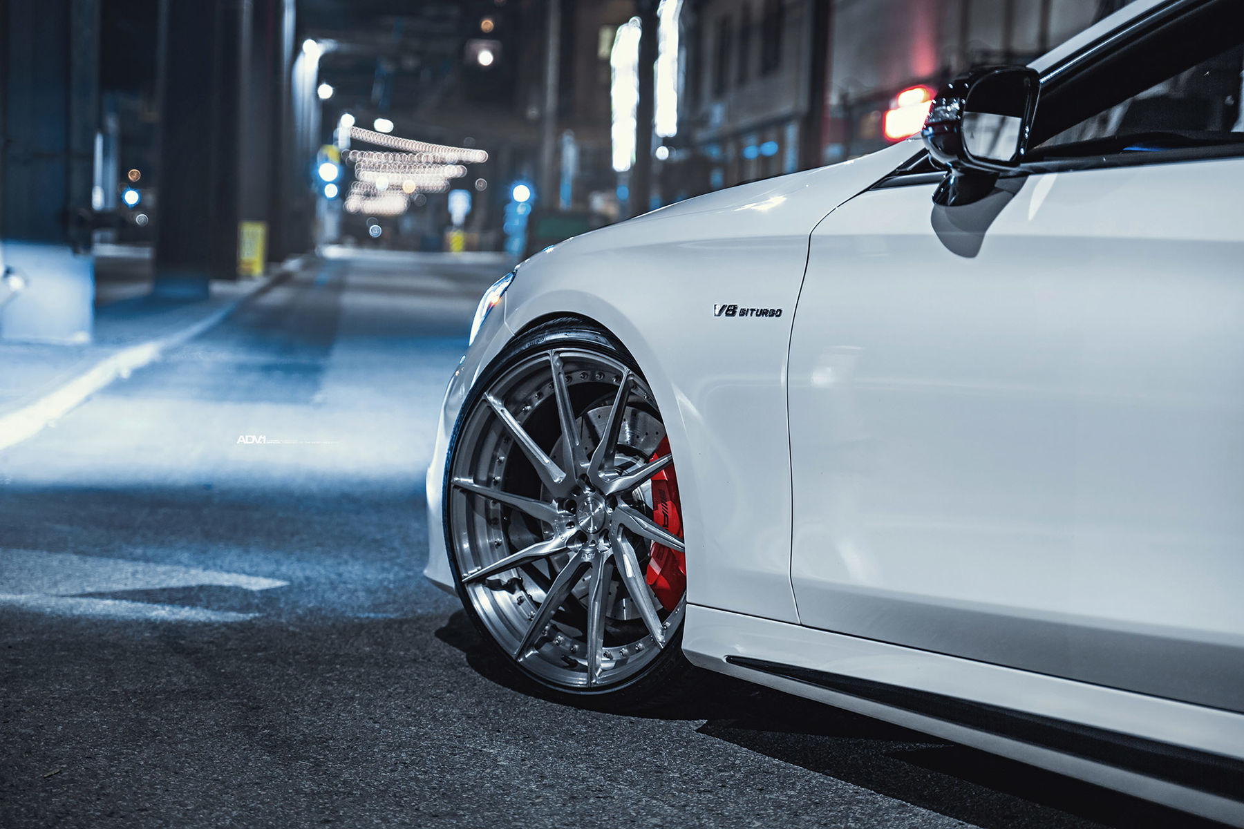 Mercedes-Benz S-Class   Mercedes S63 AMG Coupe - ADV.1 ADV10R M.V2 CS Series Directional Wheels