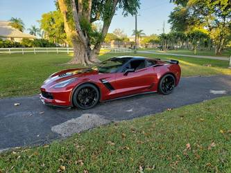 2018 Chevrolet Corvette Z06 | Paul's C7 Corvette Z06 on Forgeline One Piece Forged Monoblock VX1R Wheels from CW4L