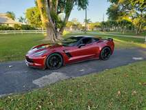 Paul's C7 Corvette Z06 on Forgeline One Piece Forged Monoblock VX1R Wheels from CW4L